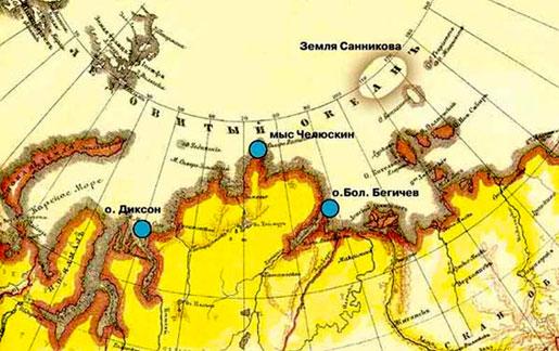 Земля санникова — оазис в ледяной